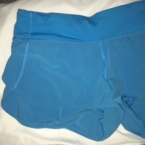 "lululemon athletica • speed shorts 2.5"" inseam"